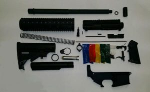300 Blackout Rifle kit with 80% lower 300BLK