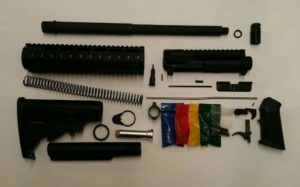 "16"" 300 BLK Blackout Complete Rifle Kit with No Lower"
