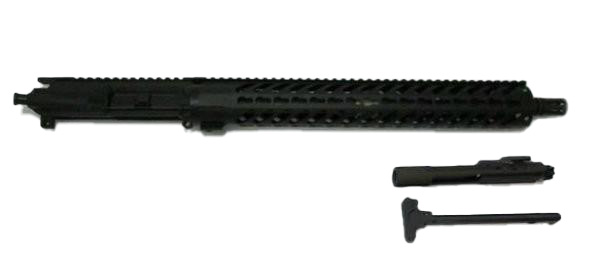 6.8 spc 16 inch upper with bolt carrier group and charging handle