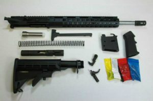 9mm rifle kit with stainless steel barrel