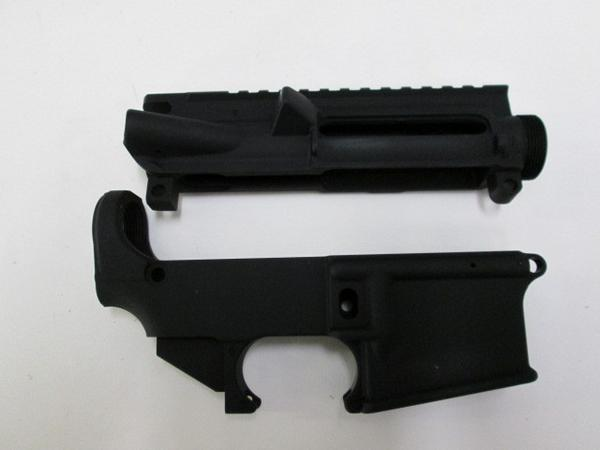 AR-15 80% Lower Receiver and Complete Stripped Upper Receiver