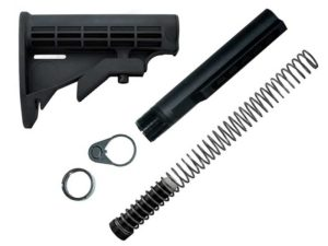 AR-15 Carbine 6 Position Stock kit for DIY AR15 Rifle Build