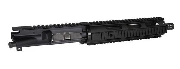 "10.5"" Ar-15 complete Upper 10"" quad rail no bcg or charging handle - Black"