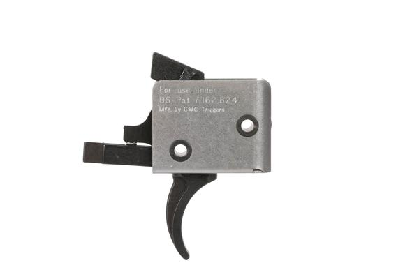 cmc ar-15/ar-10 3 gun match single stage curved drop in trigger 2.5 lb