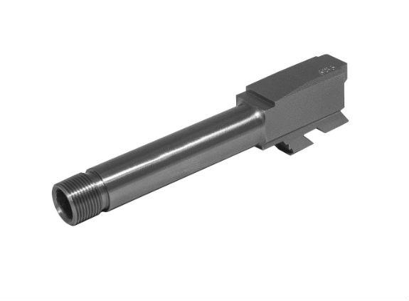 Glock 43 Stainless Steel Barrel Replacement threaded