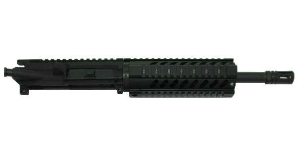"300 blackout 10.5"" pistol upper 7 inch Quad Rail No Bolt Carrier Group"