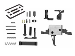 cmc 3.5 lb. straight drop in trigger with lower parts build kit including kns anti-walk pins