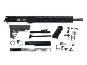 "Ghost Firearms Vital 16"" 300 Blackout Rifle Kit - Black"