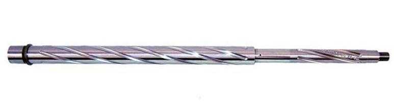 .223 wylde 20 inch spiral fluted stainless steel barrel