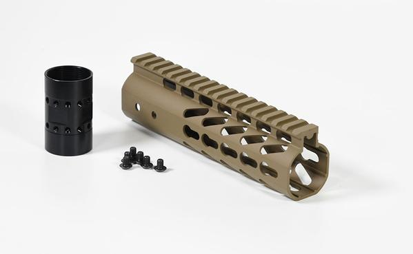 "7"" keymod handguard Rail in Flat Dark Earth"