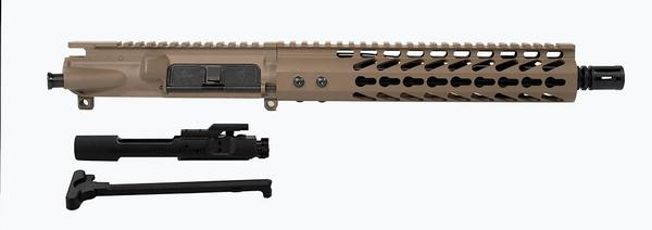 10.5 inch AR-15 Pistol Upper Flat Dark Earth with BCG