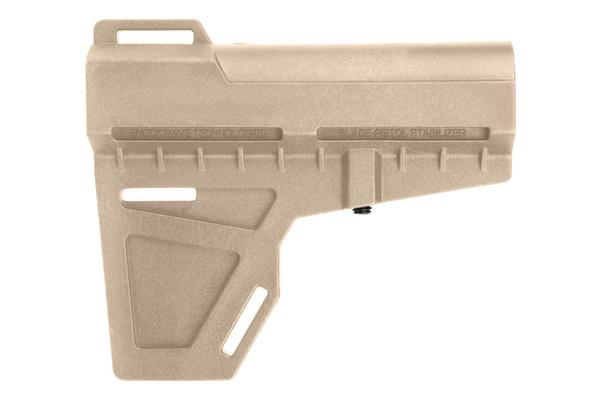 kak shockwave blade pistol stabilizer flat dark earth