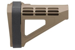 sb tactical sbm4 pistol stabilizing brace flat dark earth
