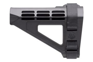 sb tactical sbm4 stabilizing brace in black.