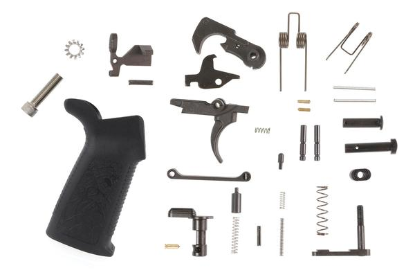 spike's tactical mil-spec standard ar-15 lower parts kit