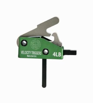 velocity triggers drop in trigger 4 lb. straight trigger shoe