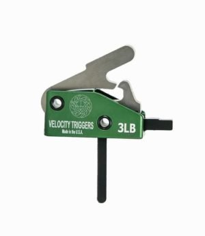 velocity triggers drop in trigger 3 lb. mil-spec straight trigger shoe