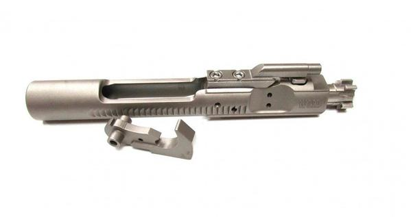 wmd guns polished ar-15 semi automatic bolt carrier group with hammer