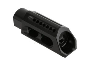 yankee hill 5/8-24 thread 30 caliber slant muzzle brake AR-10, 308