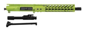 10.5 inch AR-15 Pistol Upper Zombie Green with BCG