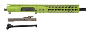 "10.5"" AR-15 Zombie Green Upper with 10"" Keymod rail and nickel boron bolt carrier group"