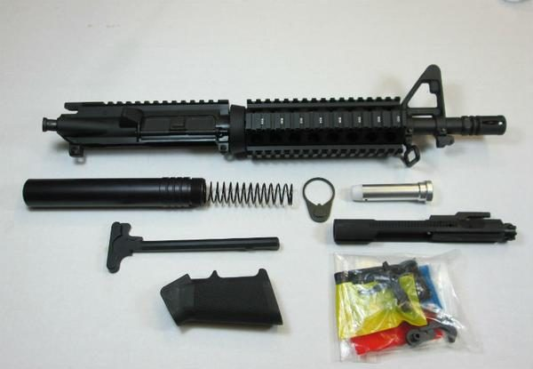 10.5_AR15_Pistol_Kit_A2_Sight_Tower_No_Lower