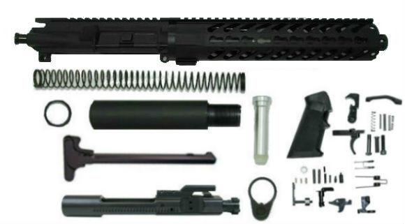 10.5 inch 7.62x39 pistol kit with 10 inch keymod rail