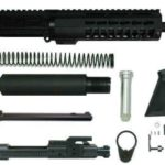300 blackout pistol kit with 7 inch keymod rail