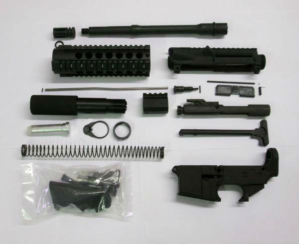 10.5 inch pistol kit with lower