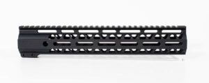 12 inch m-lok lightweight handguard rail with attachment points 3 sides
