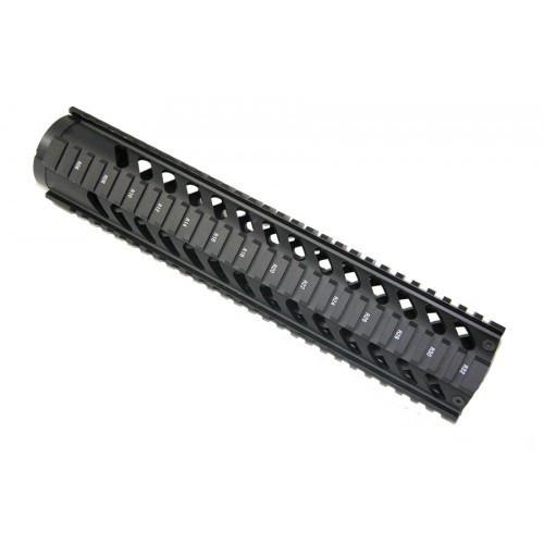 12 inch free float quad rail