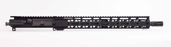 16 inch upper with 15 inch m-lok hand guard 1 x 9 barrel twist
