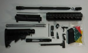 "16"" rifle kit with 10"" quadrail No Lower"