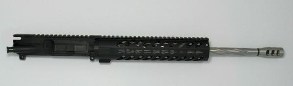 16 inch spiral fluted ar-15 upper complete