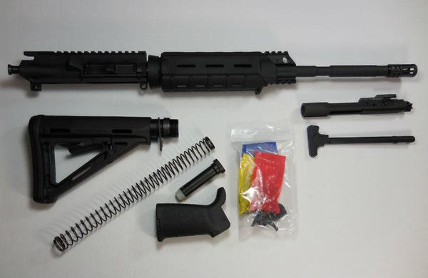 16 inch Rifle Kit with Magpul Moe without 80 percent lower