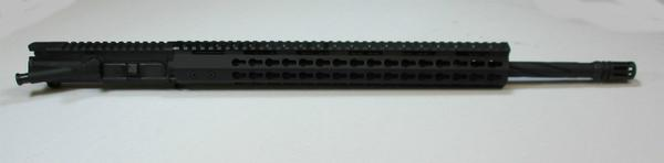 20 inch upper spiral fluted barrel with 15 inch keymod