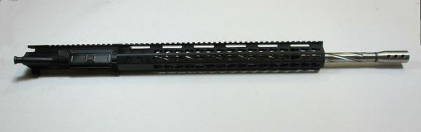 20 inch complete upper with Stainless Steel Spiral Fluted Barrel No Bcg or charging handle