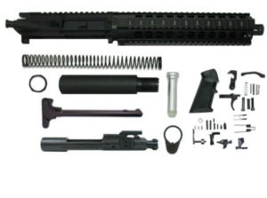 "10.5"" 300 AAC Blackout Pistol Kit 10"" QuadRail Upper Assembled WITHOUT Lower"