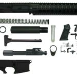 "300 10.5 inch blackout pistol kit upper 10"" rail assembled with 80% lower"