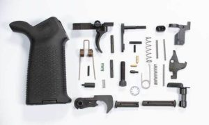 DPMS Pattern 308 Lower Parts Kit with Magpul Moe Grip Black