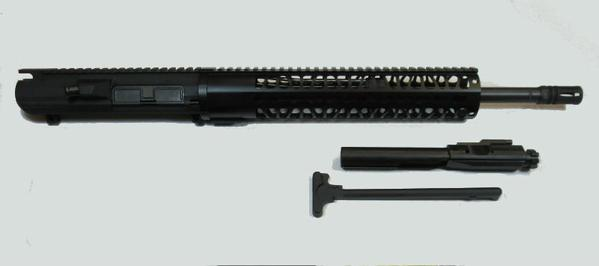 "308 DPMS Pattern AR 10 16"" Upper with Bolt Carrier Group and Charging Handle"