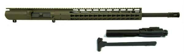 308 complete upper od green