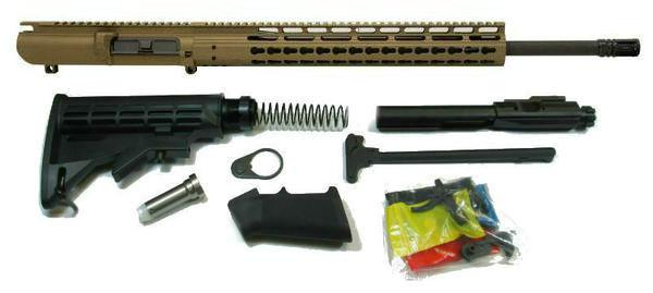 308 AR rifle kit in Burnt Bronze