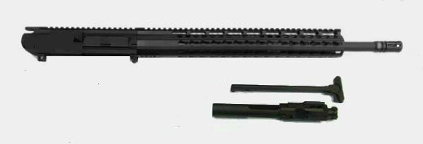 308 complete upper 18 inch black