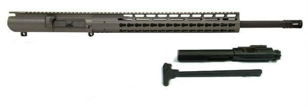 308 complete upper in tungsten grey