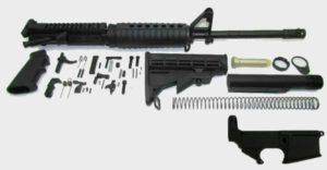 7.62x39 AR-15 Rifle Kit with A2 sight tower including lower