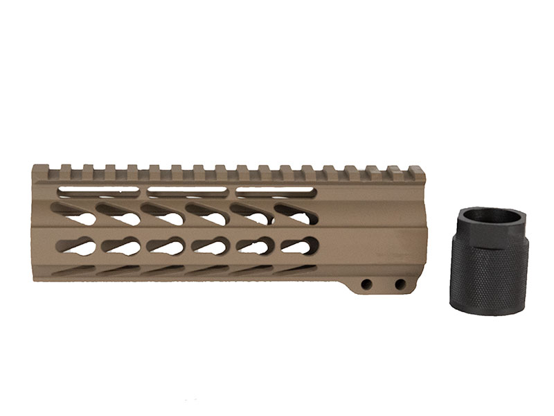 "Flat Dark Earth 7"" Keymod Handguard"