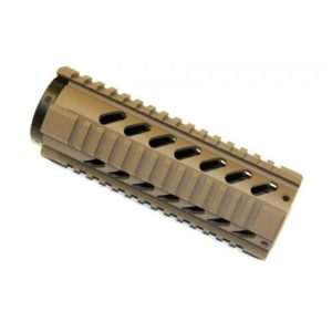 7 inch free float quadrail flat dark earth