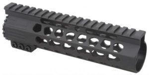 7 inch slim keymod rail with steel barrel nut