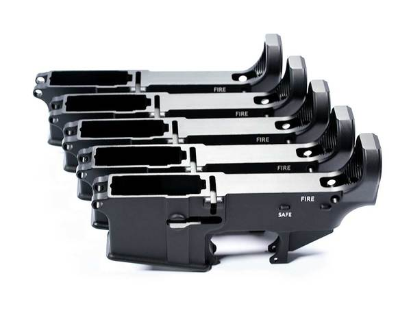 80% Ar-15 Lower Receivers bulk 5 pack